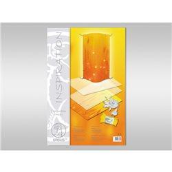 """Плёнка для изготовления ламп """"квадратная"""" 0,4 мм30,5х61 см, 2 листа"""