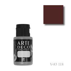 Черный шоколад 118 ArteDeco, акриловая декоративная краска