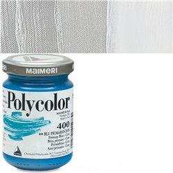 Краска акриловая Поликолор серебро