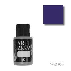 Фиолетовый настоящий 050 ArteDeco, акриловая декоративная краска