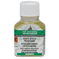 Ретушный кетоновый лак Maimeri для реставрации/75мл