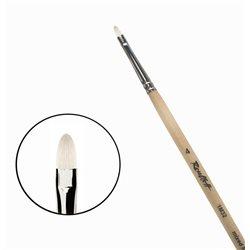 Кисть синтетика+щетина овальная №4 удл.ручка Roubloff 1М32