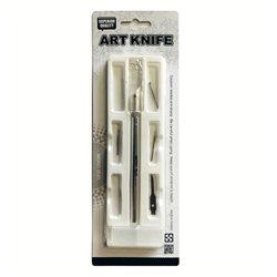 Нож для тиснения, 6 насадок./ по алюминию и дереву