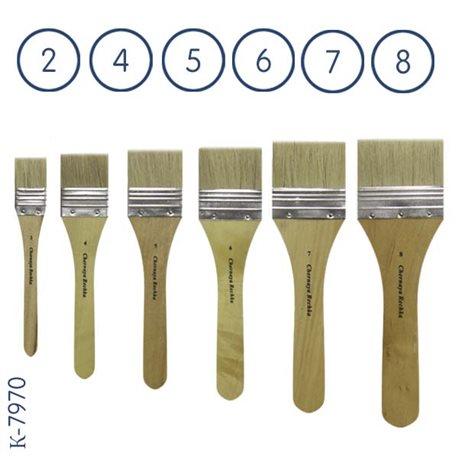 Набор флейцев из ушного волоса