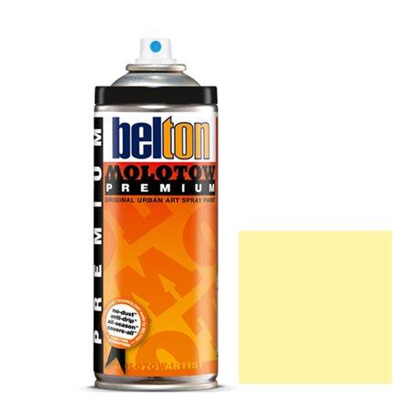 Аэрозоль Belton Molotow Premium 001 Желтый жасмин 400 мл