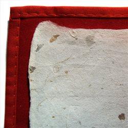 Рисовая бумага 71х138 см с растительными вкраплениями