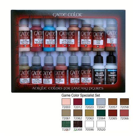 Набор Game Color 16 цв./ Специалист