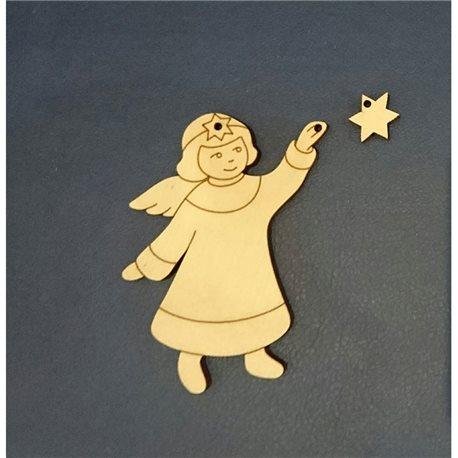 Ангел со звездой 6*8см
