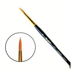 Кисть синтетика круглая №4 кор. ручка Roubloff 131F