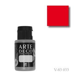 Красный ситец 033 ArteDeco, акриловая декоративная краска