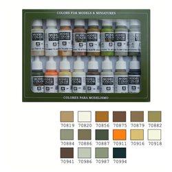 Набор Model Color ЗЕМЛИ 16цв.