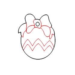 Елочный шарик №12