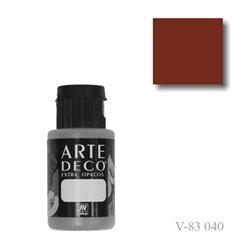 Красная окись железа 040 ArteDeco, акриловая декоративная краска