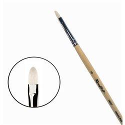 Кисть синтетика+щетина овальная №6 удл.ручка Roubloff 1М32
