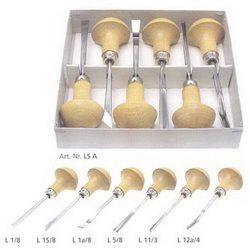 Набор штихелей для линогравюры Pfeil LS А - 6шт