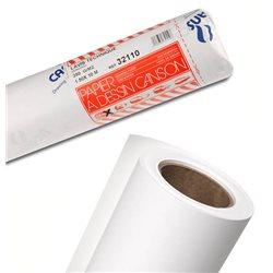Бумага чертежная с текстил. волокнами Lavis в рулоне 1,5х10м, 250г.