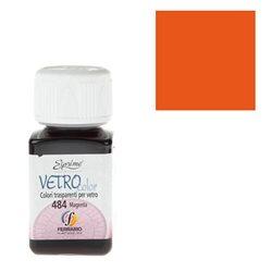 """Краски по стеклу """"Esprimo-Vetro Color"""" №463 -оранжевый/50мл"""