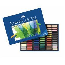 Набор сухой пастели GOFA Faber Castell - половинки/ 72 цв.