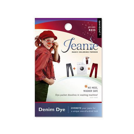 Jeanie Dye, джинсовый краситель для перекрашивания в стир. машине, 003 красный
