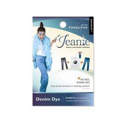 Jeanie Dye, джинсовый краситель для перекрашивания в стир. машине, 007 бирюзовый