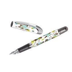 Перьевая ручка College для левшей/ Бабочки, для девочек