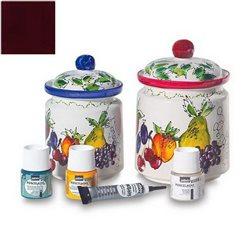 Краска по фарфору Pebeo Porcelaine (печной сушки 150*С), Красный этрусский
