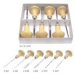 Набор штихелей для линогравюры Pfeil LS B - 6шт