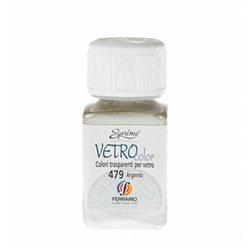 """Краски по стеклу """"Esprimo-Vetro Color"""" №479 -серебро/50мл"""