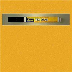Маркер по текстилю DARWI Tex Opak 6 мл/ Желтый/ круглый. наконечн.