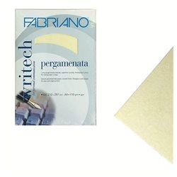 Бумага пергамент/для каллиграфии Writech 21х29,7 110г 50л/слон.кость