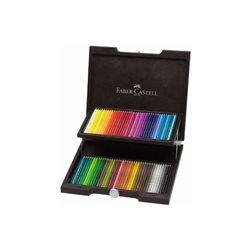 Набор цветн.карандашей Polychromos Faber Castell 72 цв.в деревянном пенале