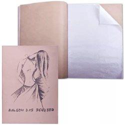 "Альбом для эскизов ""Мода"" 29,5*41,40л., 20л.-калька+20 л. крафт"