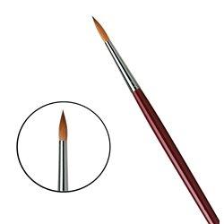 Кисть круглая Da Vinci 1610/красный колонок/дл. ручка/№12