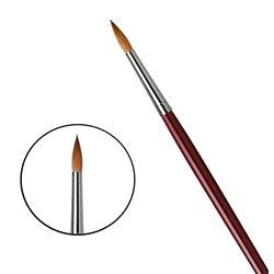 Кисть круглая Da Vinci 1610/красный колонок/дл. ручка/№14