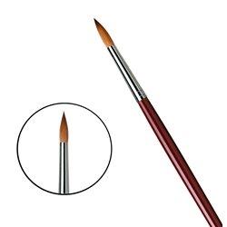 Кисть круглая Da Vinci 1610/красный колонок/дл. ручка/№16