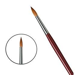 Кисть круглая Da Vinci 1610/красный колонок/дл. ручка/№18