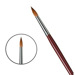 Кисть круглая Da Vinci 1610/красный колонок/дл. ручка/№20