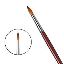 Кисть круглая Da Vinci 1610/красный колонок/дл. ручка/№22