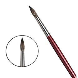 Кисть круглая Da Vinci 1640/черный соболь/дл. ручка/№ 20