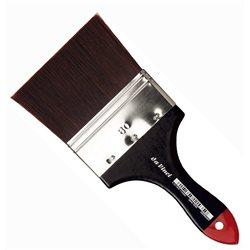 Кисть флейц Da Vinci 5040 COSMOTOP/красно-коричневая экстра жесткая синтетика/№80
