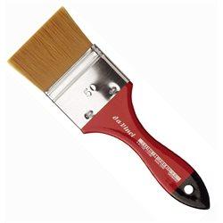 Кисть флейц Da Vinci 5080 COSMOTOP/золотистая синтетика/экстра мягкая/№50