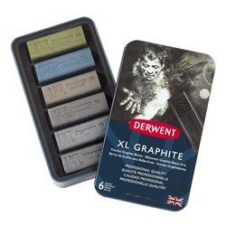 Набор графита Graphite XL 20*20*60мм / 6 цв. в металле