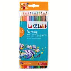 """Набор аквар. каранд. """"Lakeland Painting"""" 12цв./блистер"""