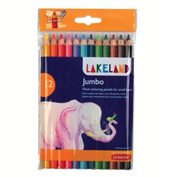 "Набор цветных каранд. ""Lakeland Jumbo"" /12 цв. в блистере"