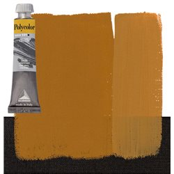 Краска акриловая Поликолор охра желтая
