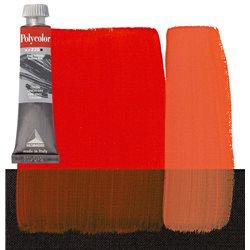 Краска акриловая Поликолор красный яркий