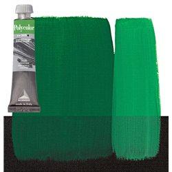 Краска акриловая Поликолор зеленый яркий темный