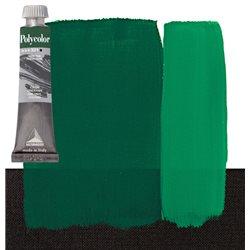 Краска акриловая Поликолор зеленый фталоцанин