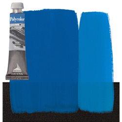 Краска акриловая Поликолор синий основной чан