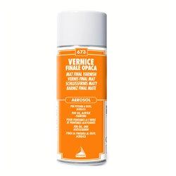 Аэрозольный покрывной матовый лак с UV-светофильтром/Maimeri/400мл
